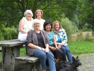 From left to right; Susan, Barbara, Kimberly, Mi Young, and Stacey