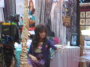 No, your eyes aren't blurry -- that really IS Marie Osmond