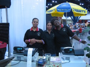 "Barbara's friendly staff at ""Itz All Good"""