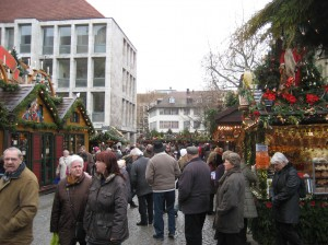 A view of the market streets