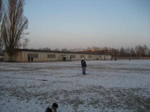 Prisoners barracks building