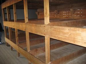Wooden bunk bed frames