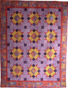 2008 Mystery Quilt front Halls of History
