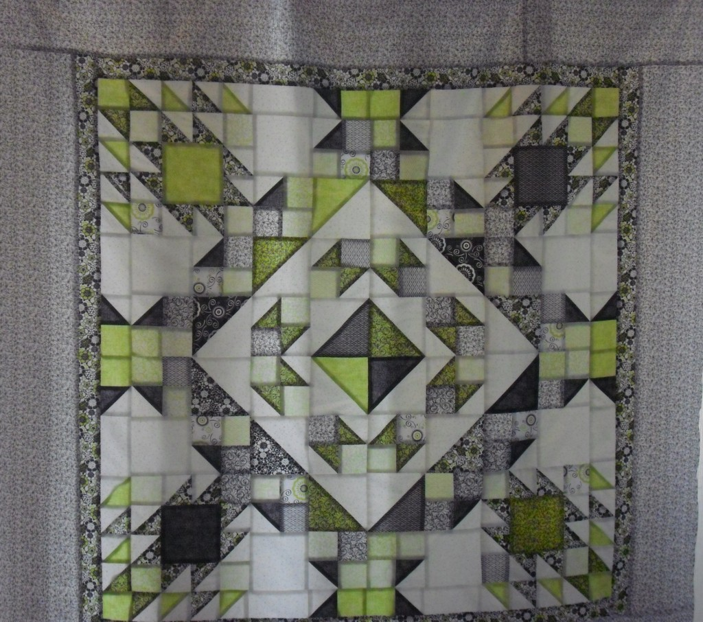 s Anvils mystery quilt top