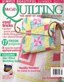 McCalls Quilting - August 2010