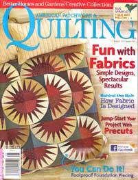 American Patchwork and Quilting - Aug 2010