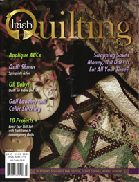 May 2009 Irish Quilting