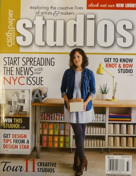 Studios Magazine cover