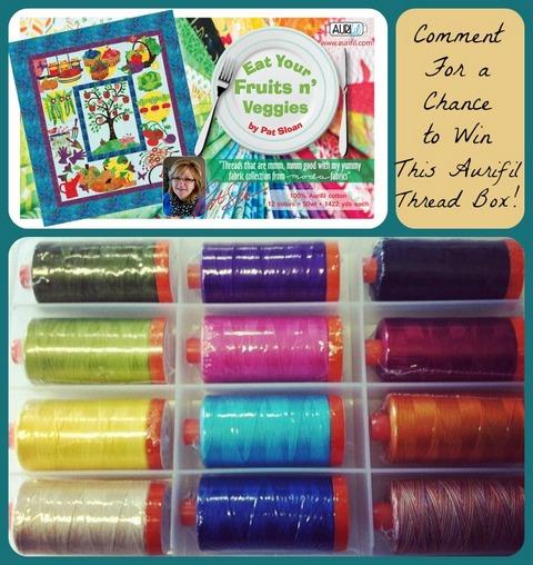 Win this Aurifil Thread Box