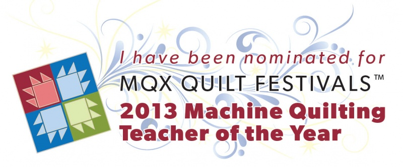 Machine Quilting Teacher of the Year