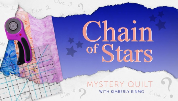 Chain of Stars Mystery Quilt Title Card