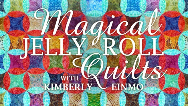 Magical Jelly Roll Quilts Title Card