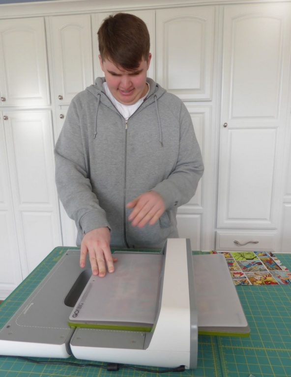Andrew using the GO BIG cutter2 - Copy