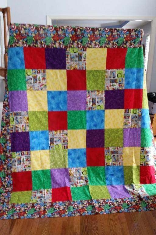 Whole quiltl top