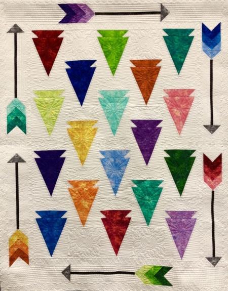 Arrowheads Quilt Pattern