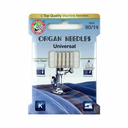 Organ Needles Universal Size 90/14 Eco Pack