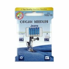 Organ Needles Jeans Size 100 Eco Pack