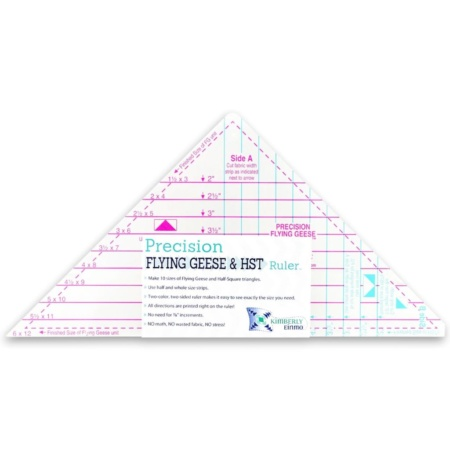 Precision Flying Geese and HST Ruler