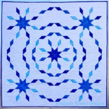 Snowflake Stars Quilt